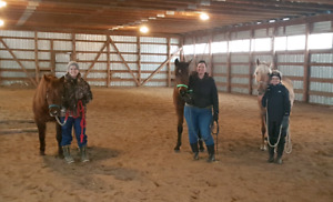 Lessons/Boarding/Training at Lost Creek Farm.  Indoor Arena!