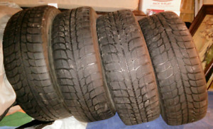Used winter tires & rims Michelin X-Ice 205 60R 16