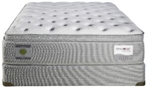 PILLOW EURO AND FLAT TOP QUEEN SIZE ONLY MATTRESSES QUEEN SIZE O