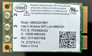 Intel Wireless WiFi Link 4965AGN - network adapter