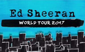 Ed Sheeran Middle Floor Seats!