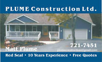 BUILD YOUR DREAM HOME WITH PLUME CONSTRUCTION