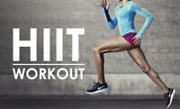 5$ HIIT fitness classes in Moncton