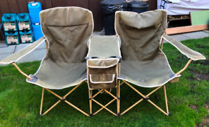 Canvas Double Camping Chair