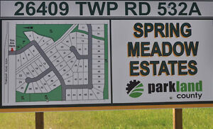 Country Estate Living in Spring Meadow Estates!