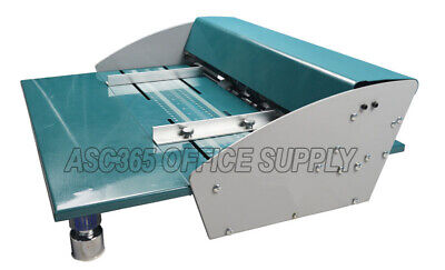 New 18in 460mm Electric Creaserscorerperforator Machine With Workbench 110v