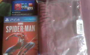 Sealed Spiderman PS4 + Extras