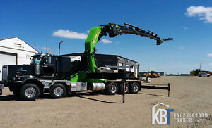 2014 Western Star 4900 with PM 150 Knuckle boom crane - Hiab
