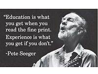 Education Is What You Get When... ep Peter Seeger fridge magnet TO CLEAR