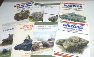 Assorted WW2 Armour Books Kitchener / Waterloo Kitchener Area image 4