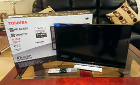 "Toshiba 24"" TV 24W3863DB - 3.5yr Warranty - Like New"