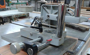 Tenoning Jig made by Steel craft