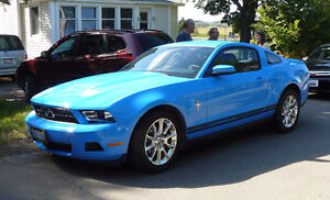 ★ 2010 Ford Mustang Pony Grabber Blue ★ Manual V6