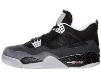 Air Jordan's retro 4s