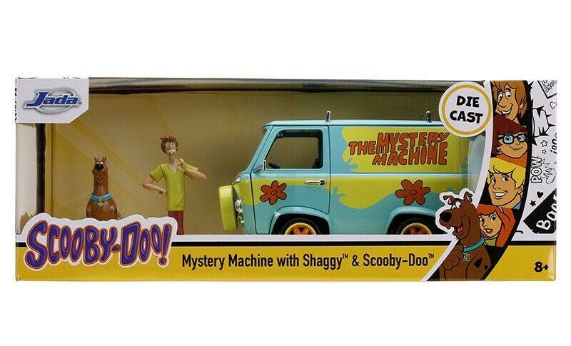 Scooby-Doo! Mystery Machine with Shaggy and Sobby-doo!!