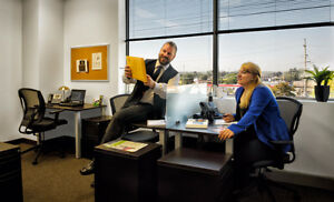 NO ACTIVATION&SET UP FEES - OFFICES WITH ALL INCLUSIVE SERVICES Regina Regina Area image 1