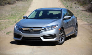 2016 Honda Civic - Lease Take Over - $336/Monthly