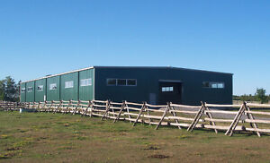 A NEW STEEL BUILDING BARNS AND ARENAS FOR HALIFAX