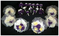21 piece flower set