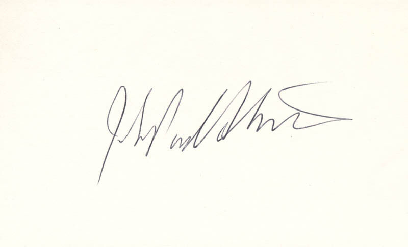 JOHN PAUL STEVENS - SIGNATURE(S)