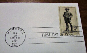 1964 Sam Houston 5 Cent First Day Cover Kitchener / Waterloo Kitchener Area image 3