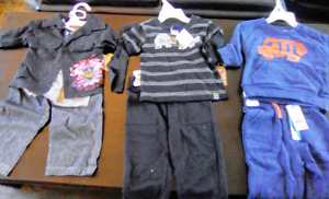 Brand New baby boy clothing and accessory lot (9-24months)
