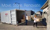 MOBILE STORAGE POD CONTAINERS for RENT or SALE