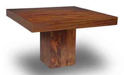 Dakota Mango Cube Dining Table 120cm Square (32n)