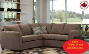 Sofas, chairs, & sectionals - Made in Canada