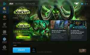 World of warcraft account to sell