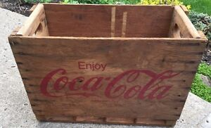 Rare Coke Crate (French English)