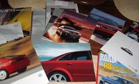 Sales Catalogue/Brochure for Audi and VW Past Models