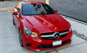 Mercedes Benz CLA 250 - low Kms and under warranty with MB