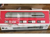 Blue ray DVD player with DVD bundle