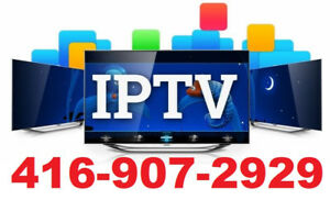 IPTV BOX AND IPTV SUBSCRIPTION CALL @416-907-2929