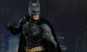 Batman The Dark Knight premium format Sideshow statue.