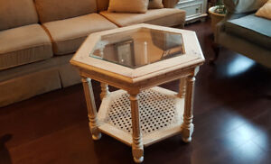 Beautifully restored coffee end/side tables