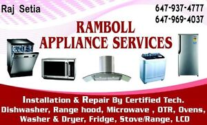 Reapir and Installtion Cooktop,Washer Dryer,Dishwasher,Water Pip