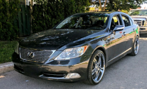 "Lexus LS460 380hp - ALL OPTIONS - 3 pieces 22"" ASANTI wheels"