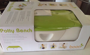 Boon Potty Bench  - Modern Training Potty/Stepstool Peterborough Peterborough Area image 1