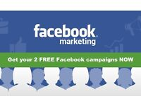 Get your 2 FREE Facebook Campaigns NOW