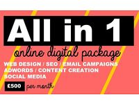 Business Online Marketing Package