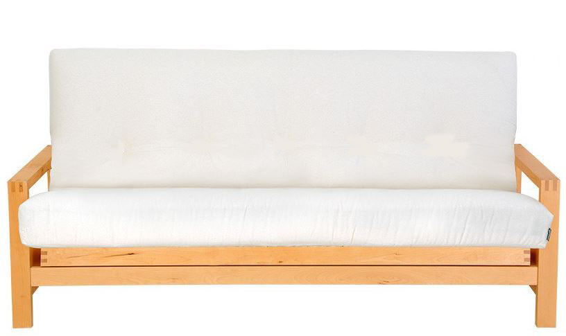 3-seater futon base, converts to double bed