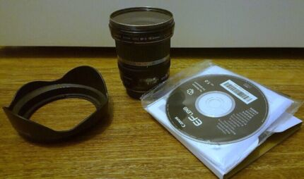 Canon EF-S 10-22 mm f3.5-4.5 USM lens perfect condition, boxed