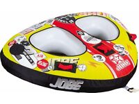 double towable ring for jet ski or boat like jobe double trouble.