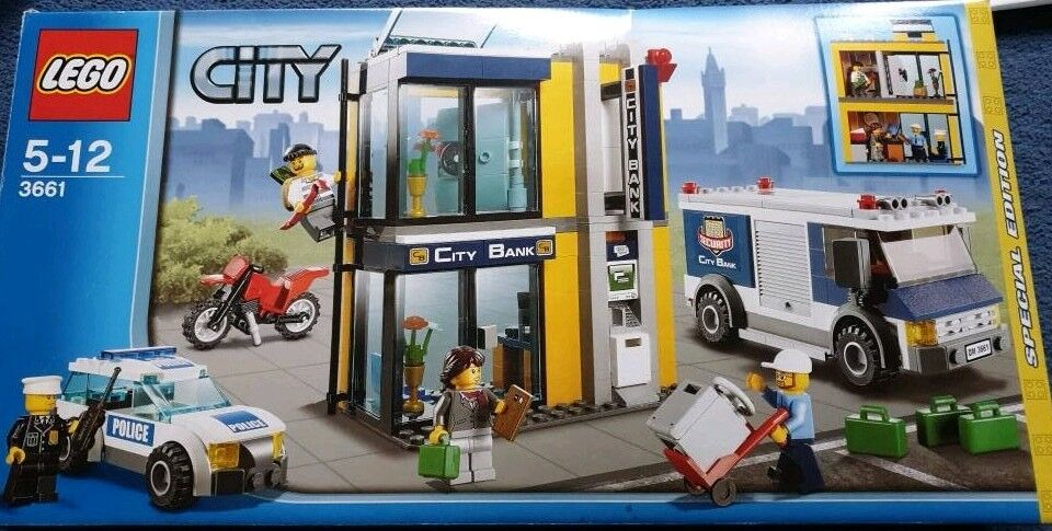 Lego City Bank 3661 In St Helens Merseyside Gumtree