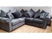 "🎀Elegant Style New🎀""ASHWIN 3+2 Seater Sofa""🎀&🎀""ASHWIN Corner Sofa""🎀Both Available in Stock!🎀"