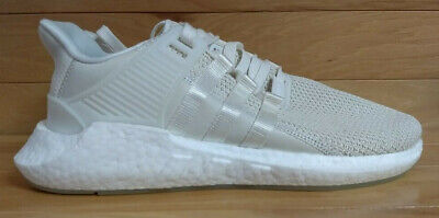 ba4019609 Adidas EQT Support 93 17 Size 13 Boost Off White Cream Mens Shoe BZ0586