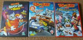Tom and Jerry DVD bundle, 3× discs