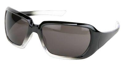 Crews 2 Women's Safety Glasses Sunglasses Black Gradient Frame Gray (Women's Safety Sunglasses)